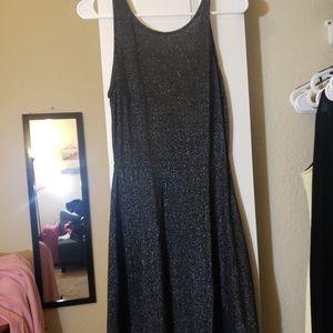 Black sparkling dress,  never used